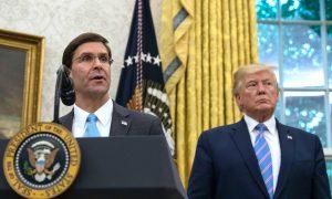 Trump Fires Esper as US Defense Secretary