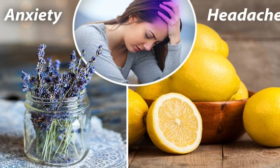 Anxiety and Headache Sufferers May Get Relief From This Lavender-and-lemon Drink