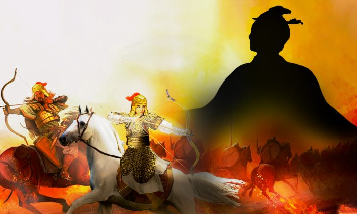 The queen was the first general in China's written history to apply ambush tactics in war. (NTD)