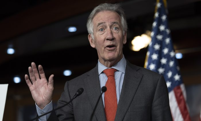 Rep. Richard Neal (D-Mass.) in the Capitol in Washington on June 13, 2018. Neal is the sponsor of The Rehabilitation for Multiemployer Pensions Act of 2019. (Toya Sarno Jordan/Getty Images)