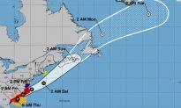 Hurricane Dorian Spawns Tornadoes in Carolinas, Moving Along Coast