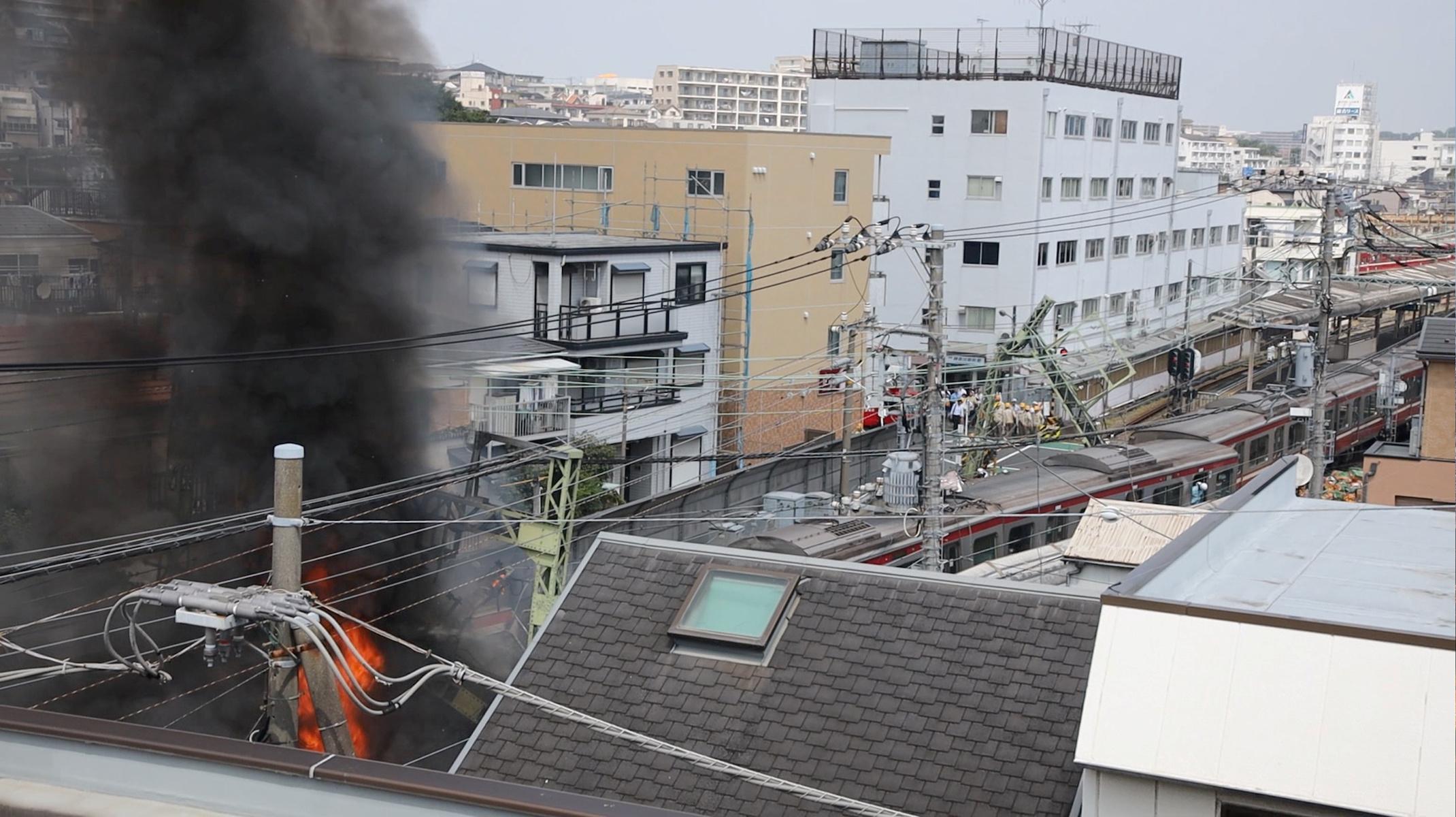 japan train collision