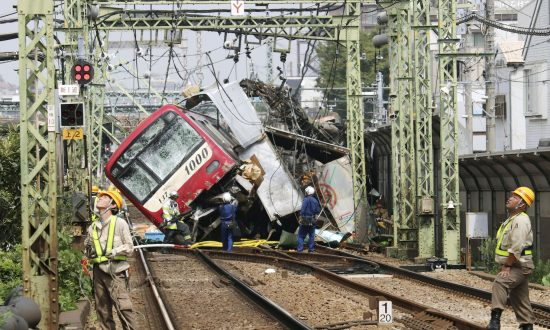 Truck and Train Collide in Japan, Killing One, Injuring at Least 34