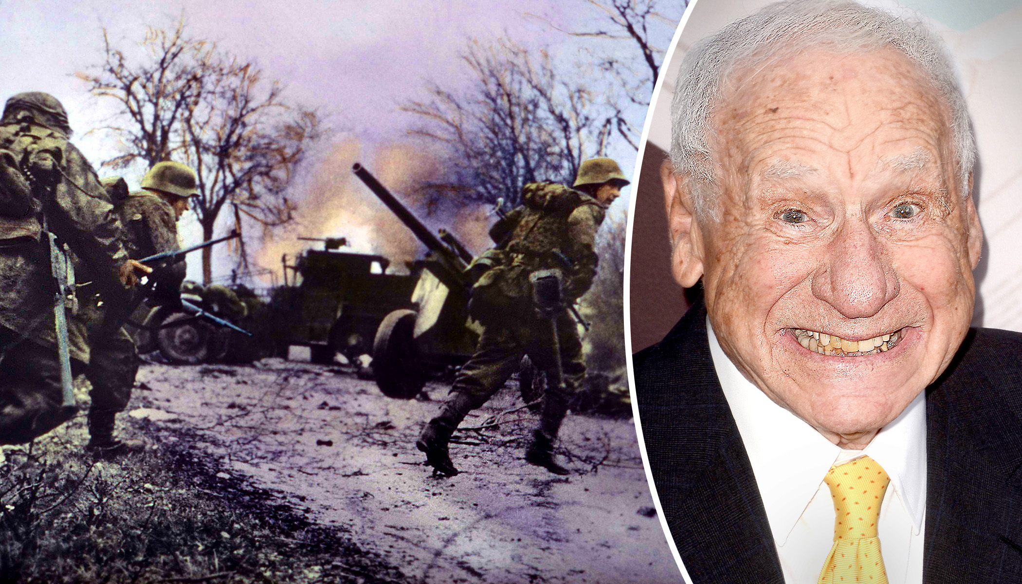Comedian Mel Brooks Fought in One of WWII's Deadliest Battles–and He Can Still Joke About It