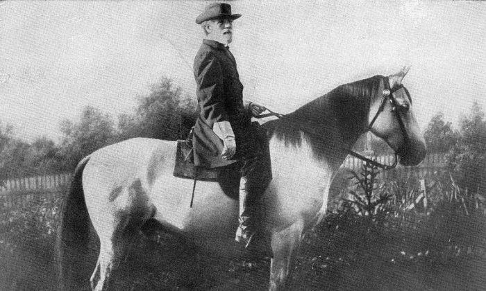 General Robert E. Lee in 1866. (Public Domain)