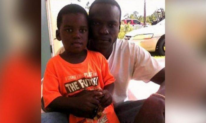 Adrian Farrington and his son, Adrian Jr. (Family photo)