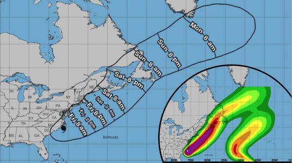 hurricane forecast charts
