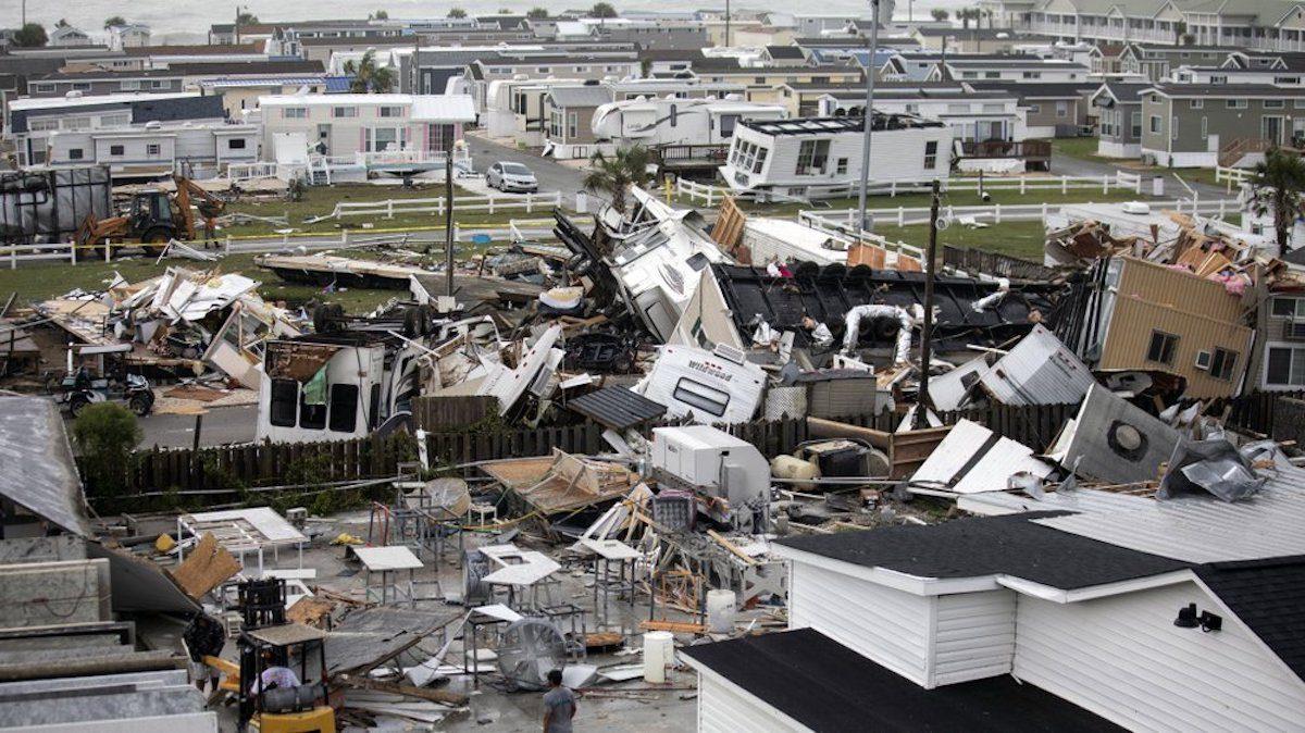 North Carolina damage