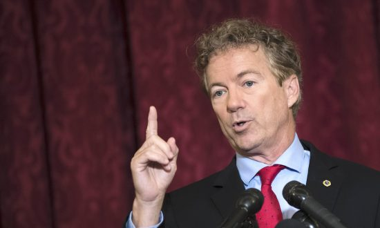 $50 Billion of Taxpayer Money Wasted, Rand Paul Says in Latest 'Waste Report'