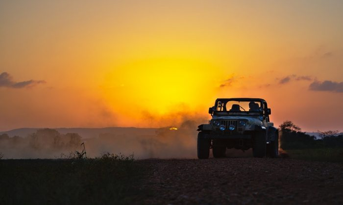 Stock image of a jeep. (RonaldPlett/Pixabay)