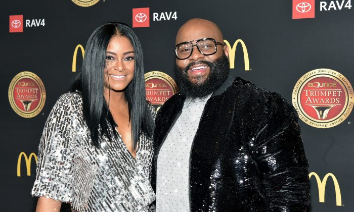 April Daniels and Lashawn Daniels attends the 2019 Bounce Trumpet Awards in Atlanta, Ga., on Jan. 19, 2019. (Moses Robinson/Getty Images for Bounce Trumpet Awards )