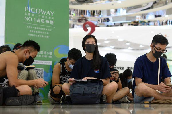HONG KONG-CHINA-POLITICS-UNREST