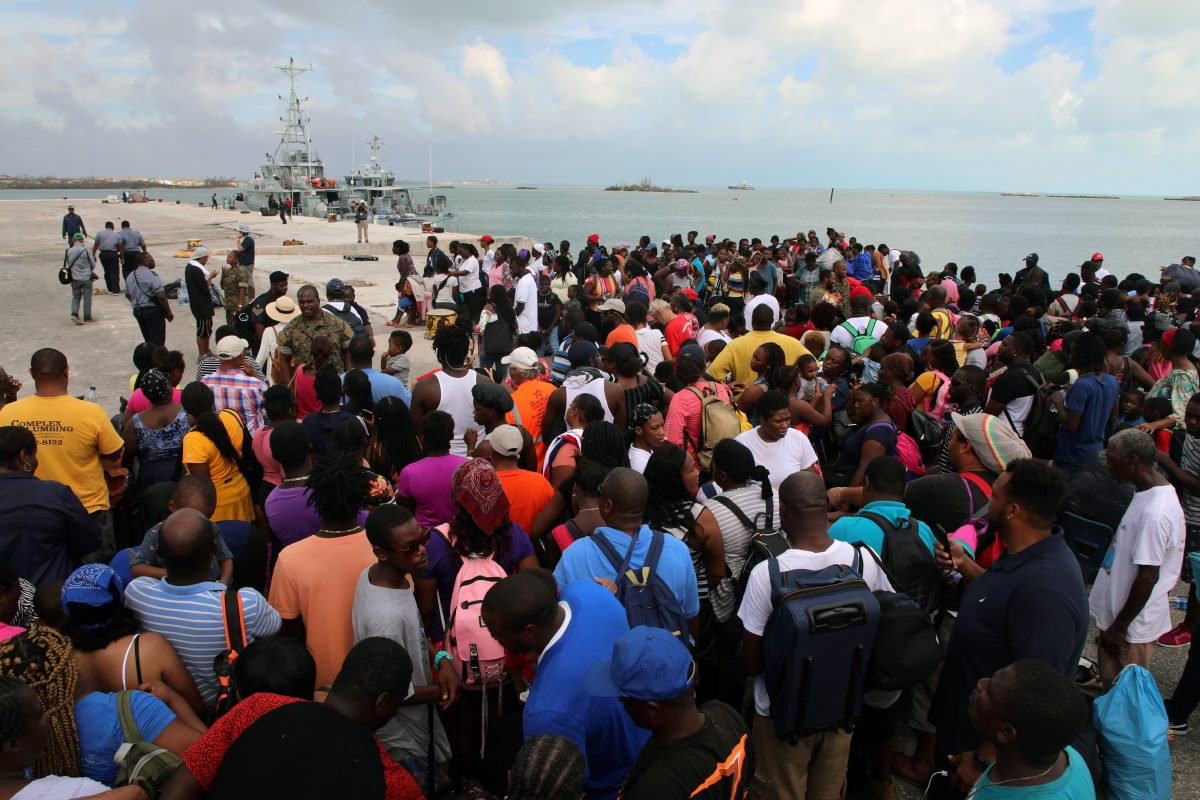 hurricane abaco island distaster