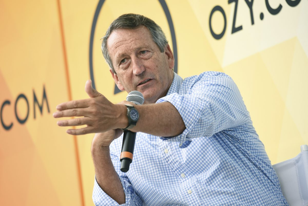 Republican politician Mark Sanford