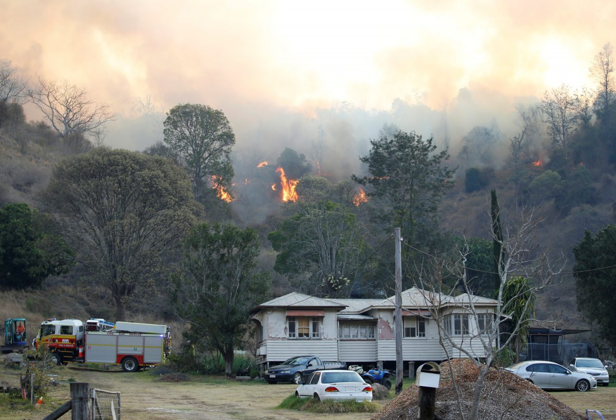 Homes lost in Queensland, Australia, bushfires