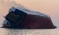 Coast Guard Makes Contact With Capsized Cargo Ship Off Georgia: Officials