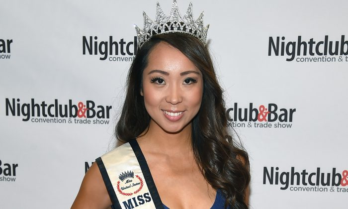 Miss Nevada United States 2014 Lisa Song Sutton attends the 30th annual Nightclub & Bar Convention and Trade Show at the Las Vegas Convention Center on March 31, 2015 in Las Vegas, Nevada. (Ethan Miller/Getty Images for Nightclub & Bar Media Group)