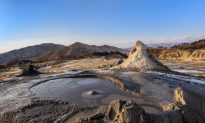 Romania's Mud Volcanoes: Dreams of Lunar Landscapes