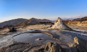 Romania's Mud Volcanoes: Dreams of Lunar Landscapes