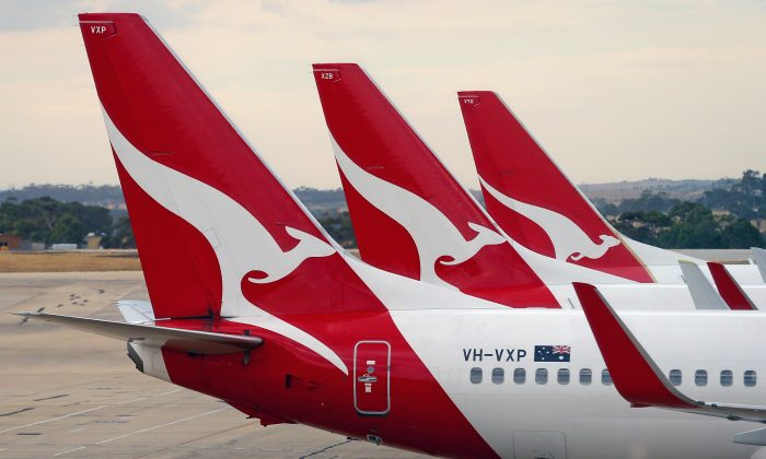 Qantas plans to test a 19-hour flight with employees only on board to ensure the flights are safe and comfortable enough for customers. (Scott Barbour/Getty Images)