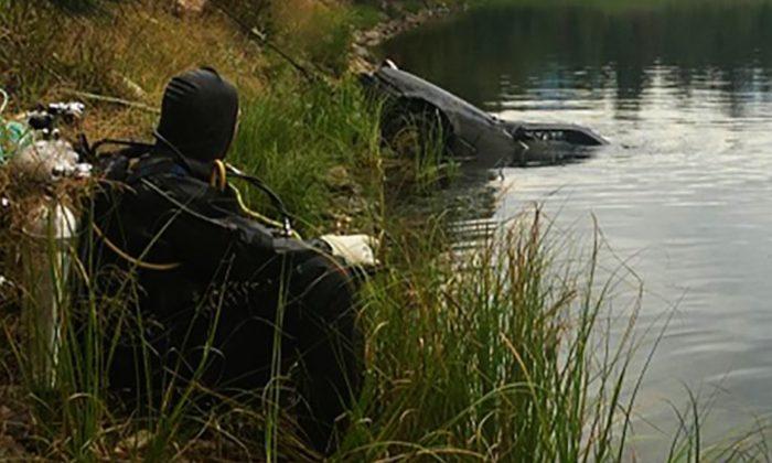 Griffin Lake near Revelstoke, British Columbia. (Courtesy of Reelstoke Royal Canadian Mounted Police)