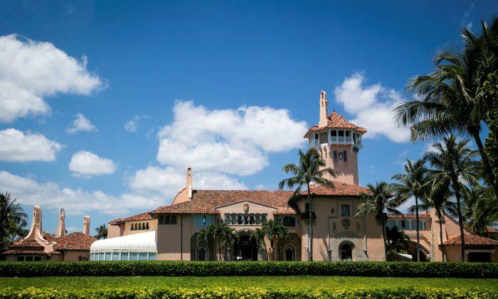 The Mar-a-Lago club in Palm Beach, Florida, U.S. on April 21, 2019. (Al Drago/Reuters)