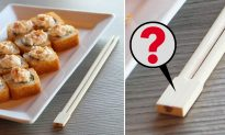 The Secret Purpose of the Block at the End of Your Disposable Chopsticks