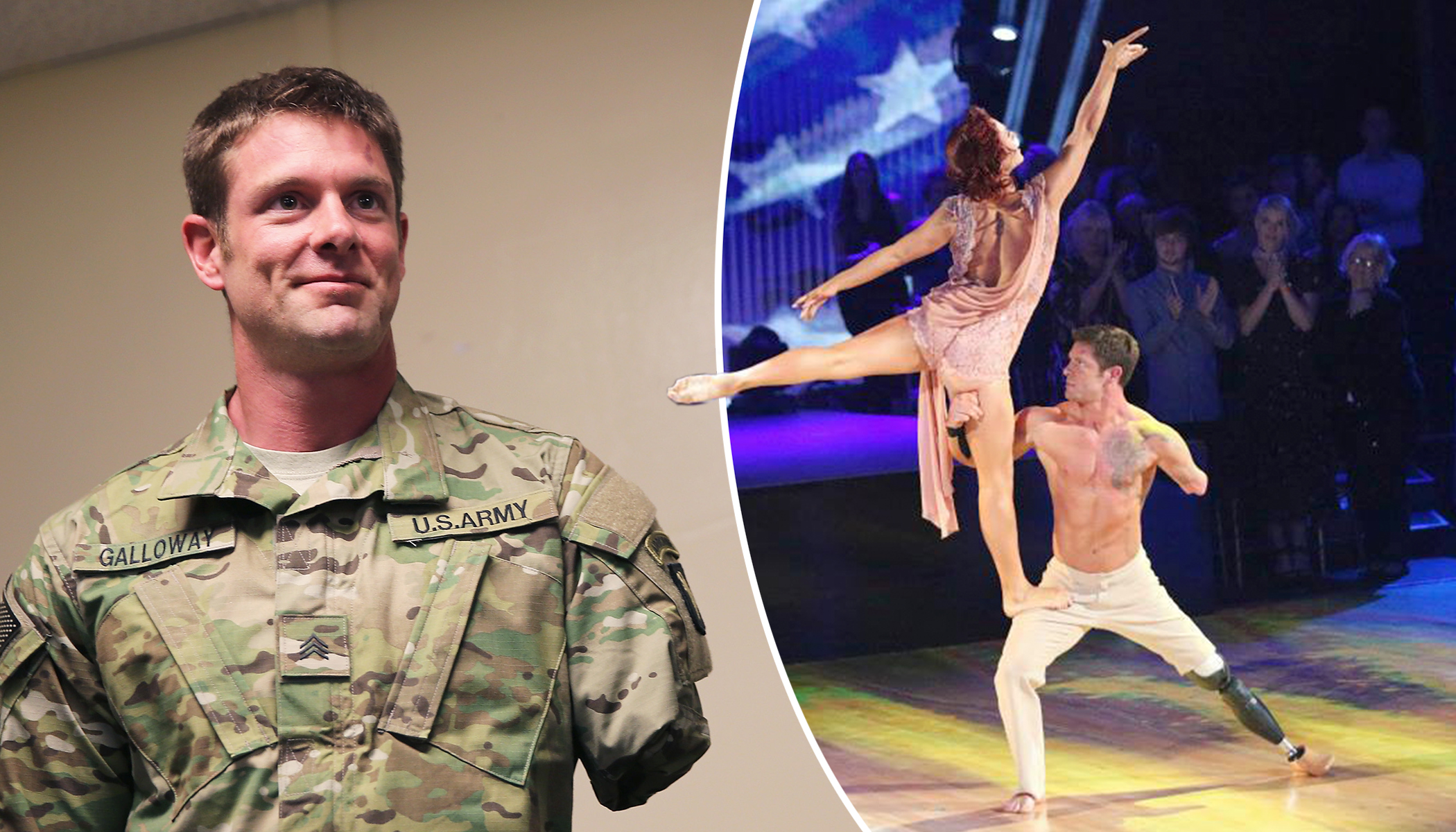 Double Amputee Veteran Steals Hearts With His Performance on 'Dancing with the Stars'