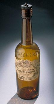 Bourbon-bottle_from_Gettysburg