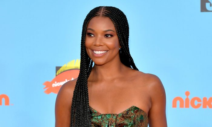 Gabrielle Union attends Nickelodeon Kids' Choice Sports 2019 at Barker Hangar in Santa Monica, California, on July 11, 2019. (Neilson Barnard/Getty Images)
