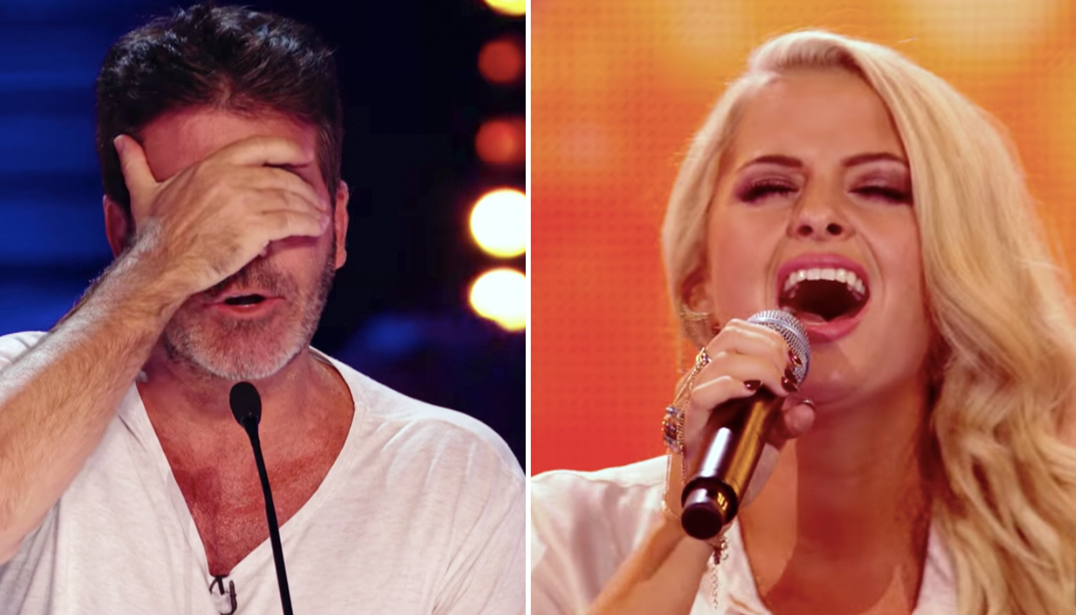 Girl Sings 'Amazing Grace' at X-Factor in A capella, Earns Skeptical Simon's Praise