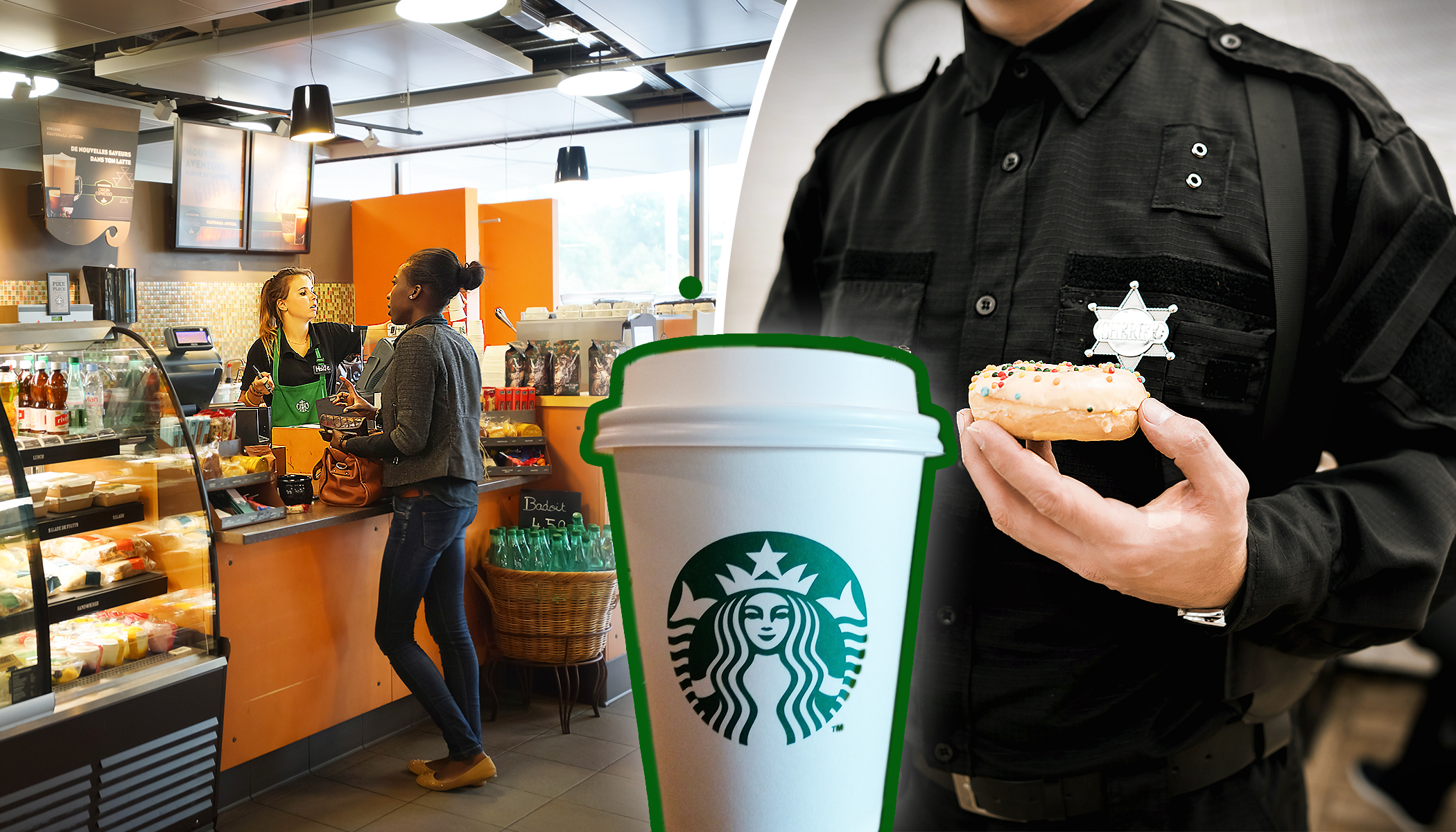 Starbucks Staff Asks Cops to Leave Because Customer Feels 'Unsafe'–Then Local Coffee Shop Makes Counter Offer