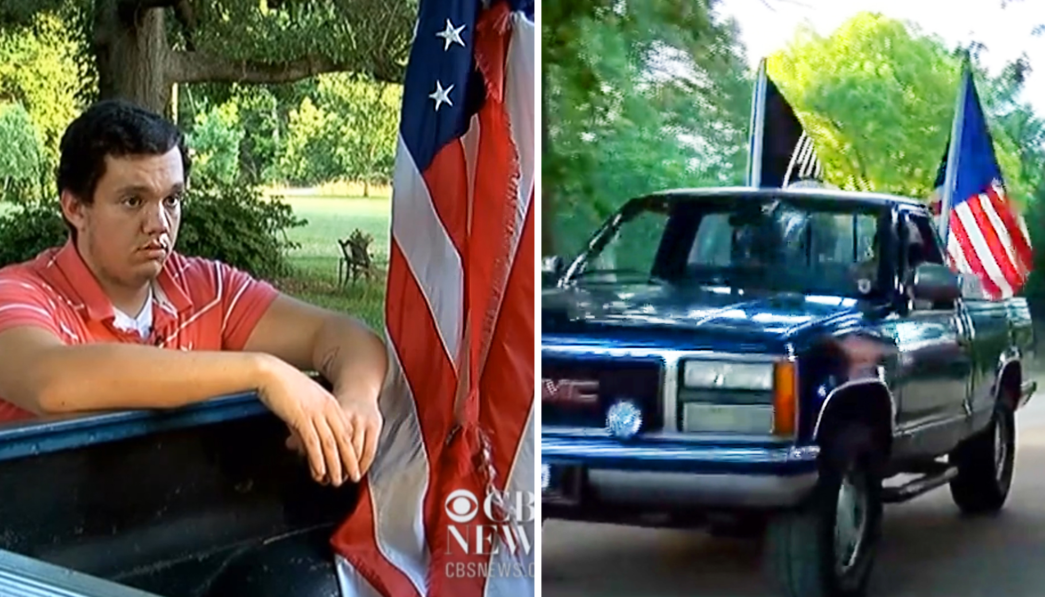 South Carolina Teen in Hot Water From School Admin for Flying American Flag on His Truck