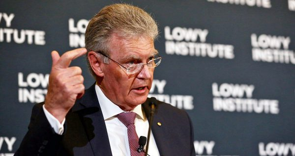 ASIO Director-General Duncan Lewis Lowy Institute Sydney