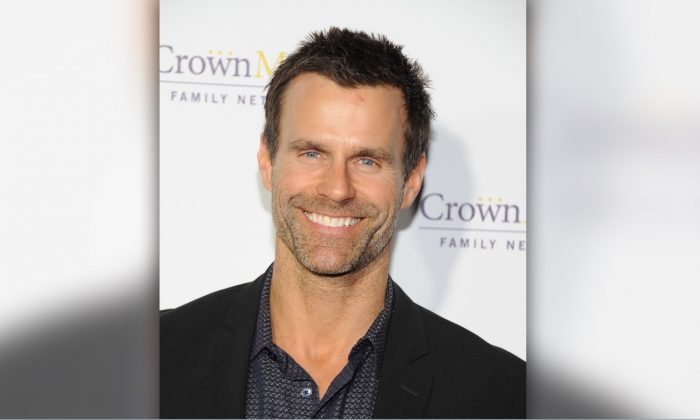 Cameron Mathison arrives at Hallmark Channel & Hallmark Movie Channel's 2015 Winter TCA party in Pasadena, California, on Jan. 8, 2015. (Angela Weiss/Getty Images)