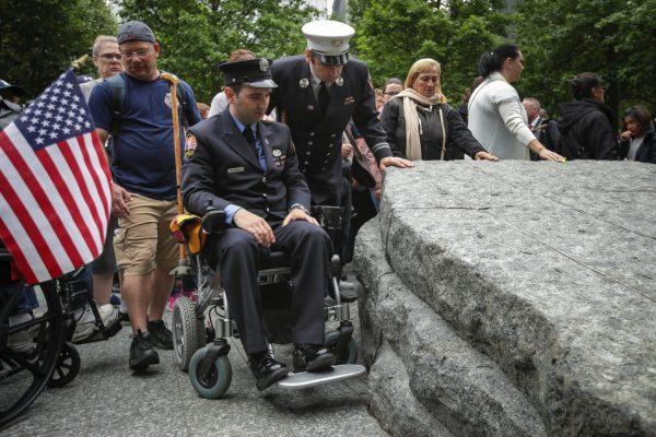 Memorial Glade Opens At 9/11 Memorial