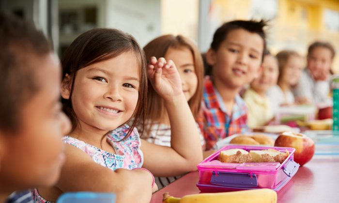 Healthier school lunches are one way to keep colds and coughs at bay. (Monkey Business Images/Shutterstock)