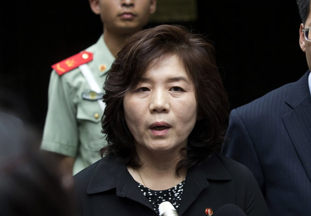 North Korea's First Vice Foreign Minister Choe Son Hui