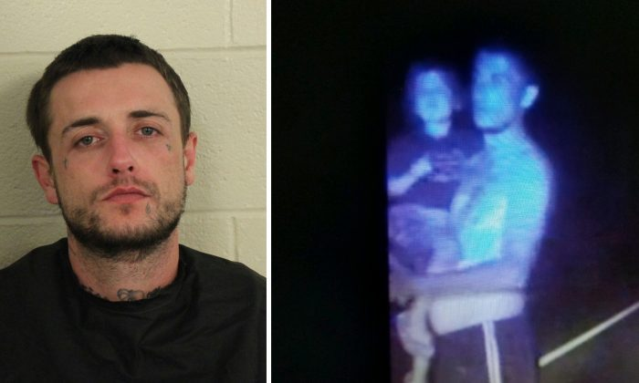 James Brick Edwards, the father of a 2-year-old girl reported missing and later found safe. (Floyd County Police  Department)