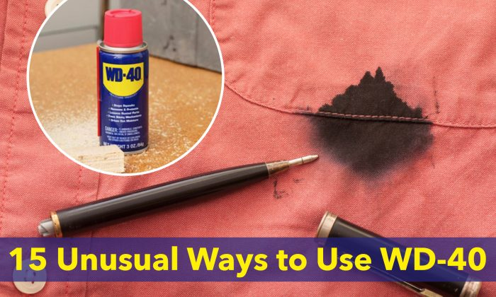 (L: Photo courtesy of WD-40, R: Illustration - Shutterstock)