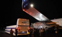 Trudeau's Election Plane Damaged After Media Bus Drives Under Wing
