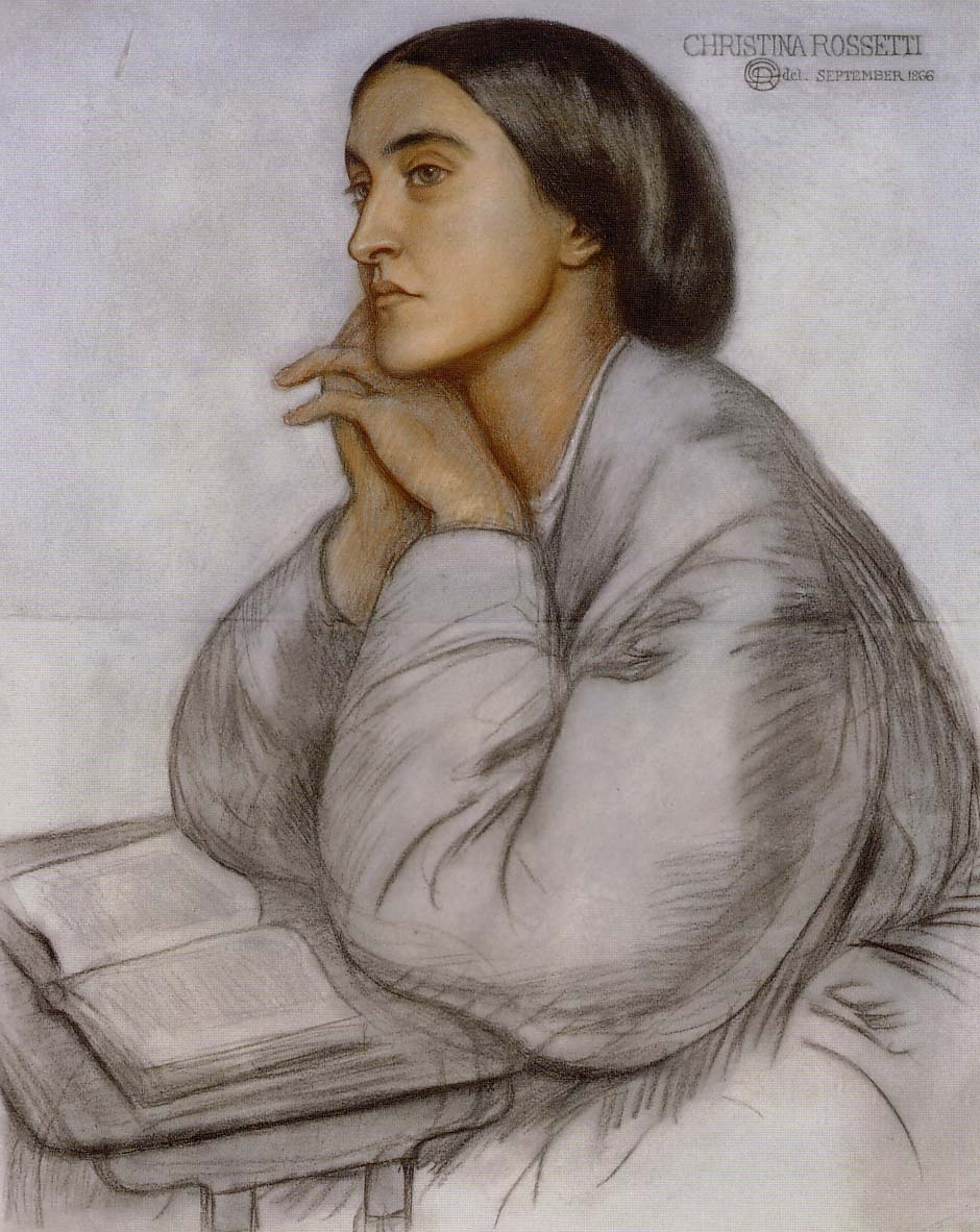 Christina_Rossetti_by her brother