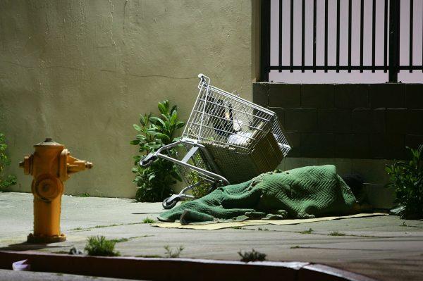 Homeless trolley
