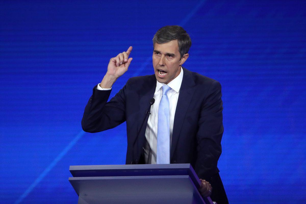 Democratic presidential candidate Beto O'Rourke