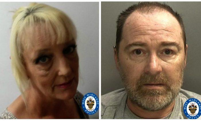 Lynn Hart (L) and David Harrison. (Courtesy of West Midland Police)