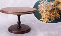 Man Lines Up 3,500 Pennies on a Table and Turns It Into a Beautiful DIY Furniture (Video)