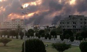 Drone Attacks Knock Out Half of Saudi Arabia's Oil Supply, Pompeo Names Iran