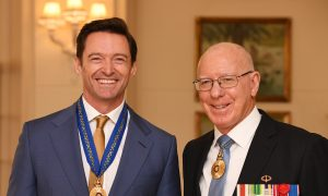 Hugh Jackman Receives Order of Australia Medal