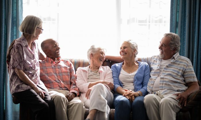One of the best things about cohousing is the built in opportunity to make friends and stay socially active.   (wavebreakmedia/Shutterstock)