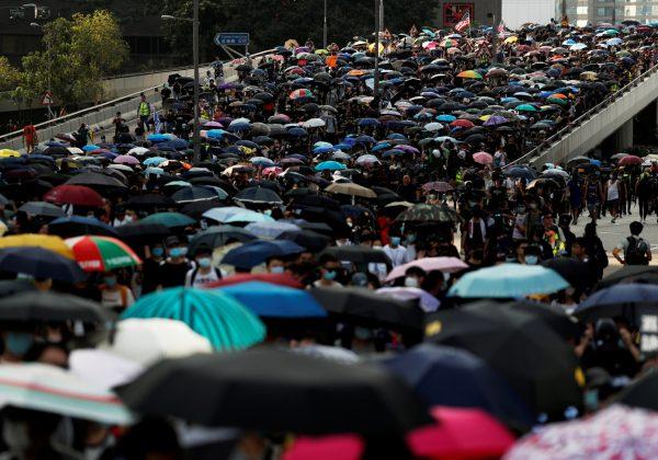 2019-09-15 HONGKONG-PROTESTS